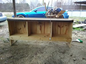 Hand made bed frame for Sale in Forest, MS