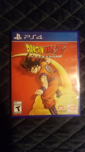 Dragon ball z kakarot ps4 for Sale in Downey, CA