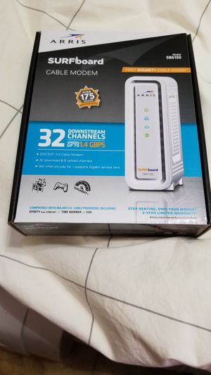 Arris SURFboard cable modem model SB6190 for Sale in Peoria, AZ