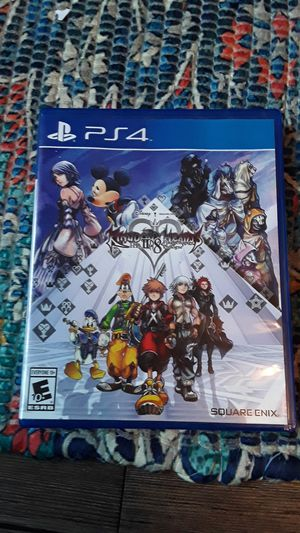 Kingdome hearts 2.8 (will trade for donkey kong country tropical freeze or the legend of zelda links awakening for switch) for Sale in Riverside, CA