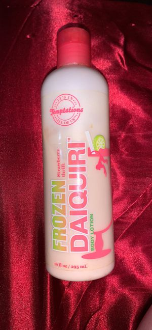 Temptations Frozen Daiquiri Body Lotion for Sale in Jersey Shore, PA