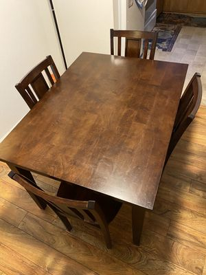 Dinning table with 4 chairs for Sale in Talent, OR