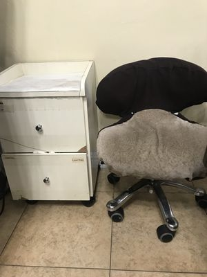 Wood storages and chair for Sale in La Mesa, CA