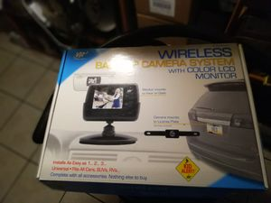 Back- up camera w color lcd for Sale in Gulf Breeze, FL