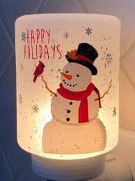 Holiday snowman scentsy mini warmer for Sale in Whittier, CA