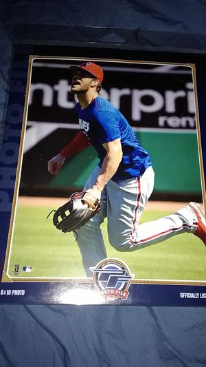 PHILADELPHIA PHILLIES BRYCE HARPER PHOTO for Sale in Morrisville, PA