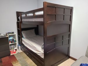 Twin over Twin Bunk Bed for Sale in Glenarden, MD