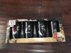 The Walking Dead 4 Pint Glass Pack for Sale in Commerce, CA