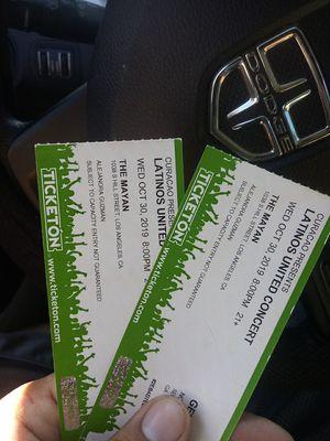 Tickets para alejandra guzman for Sale in Santa Ana, CA