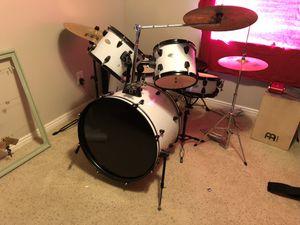 Spl drum set with meinl cymbals for Sale in South Jordan, UT