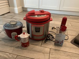 Instant Pot,Rice Cooker,Hand Blender and Cuban coffee maker for Sale in Miami Springs, FL