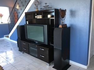 Entertainment Center and cabinets for Sale in Galveston, TX