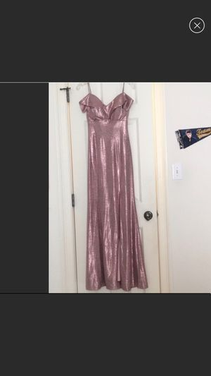 NWOT Metallic Pink formal dress for Sale in Greensboro, NC