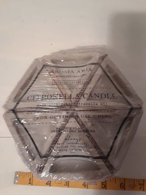 Citronella candle, never used. for Sale in Port St. Lucie, FL