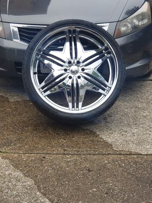 26 inch rims with tires for Sale in MIDDLEBRG HTS, OH