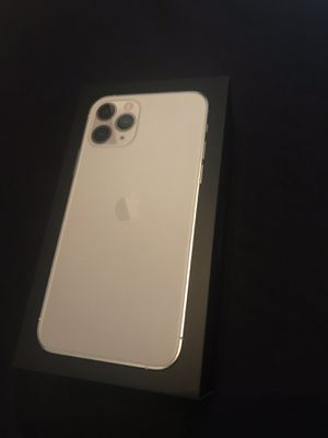 Apple iPhone 11 pro 512 GB Silver Brand New Unlocked for Sale in Fremont, CA