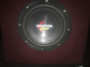 10 inch Kicker Competition subwoofer for Sale in Las Vegas, NV