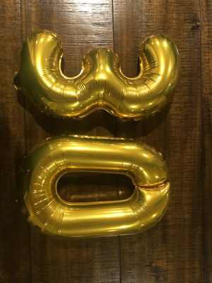 14in gold balloons for Sale in Auburn, WA