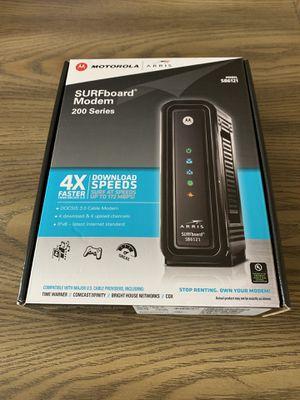 DOCSIS 3.0 Motorola Arris SB6121 Cable Modem for Sale in Centralia, WA
