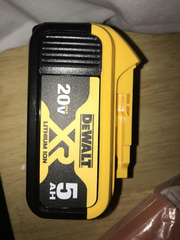DEWALT DCF887B 20V MAX XR Li-Ion Brushless 3-Speed Impact w/ 5aH battery