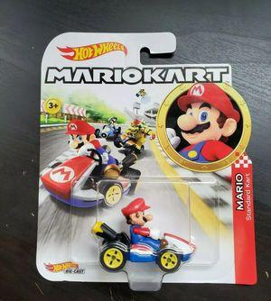 2019 Hot Wheels Super Mario Kart Mario Toy Car for Sale in Nashville, TN