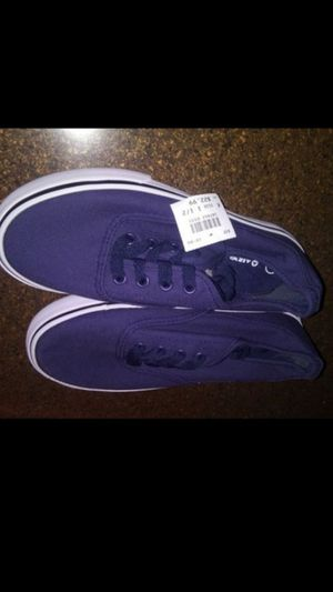 Boys size 1 1/2 navy new shoes for Sale in Costa Mesa, CA