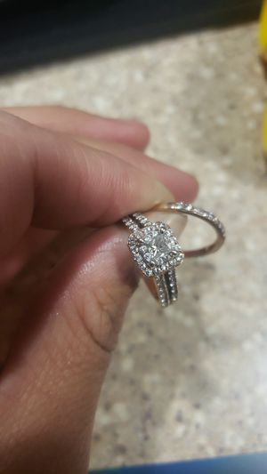 Helzberg wedding ring and band for Sale in Washington, DC