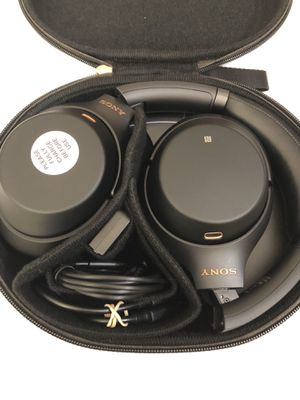 Sony - WH-1000XM3 Wireless Noise Canceling Over-the-Ear Headphones with Google Assistant - Black ( WH1000XM3 ) for Sale in Garland, TX