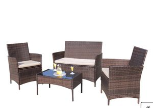 Walnew 4-Piece Outdoor Patio Conversation Furniture Sets for Sale in Philadelphia, PA