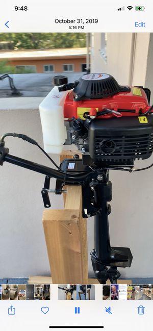 4hp outboard motor for Sale in North Miami, FL