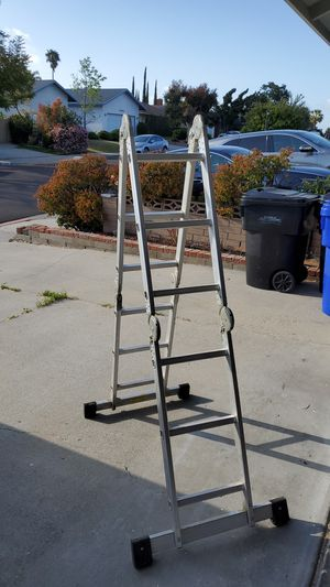 Adjustable extension ladder. Goes up to 12 feet. for Sale in San Diego, CA