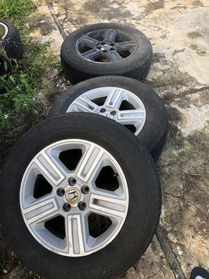 Honda Ridgeline pilot wheels rims for Sale in Orlando, FL