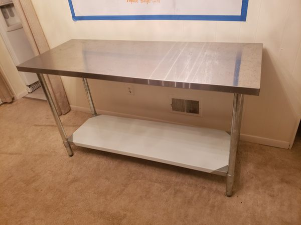 Stainless Steel Commercial Work Table Shelf
