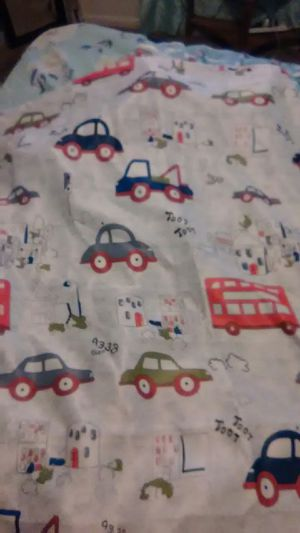 8 wall pictures and window curtain for boy for Sale in Crowley, TX