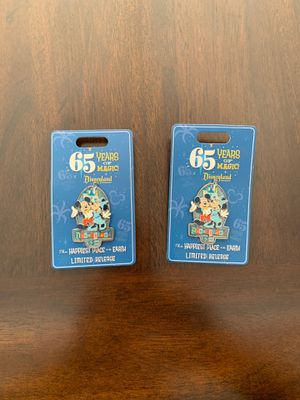 Disneyland 65th Anniversary 65 Years of Magic 2020 Mickey & Minnie LR Disney Pin for Sale in Kent, WA