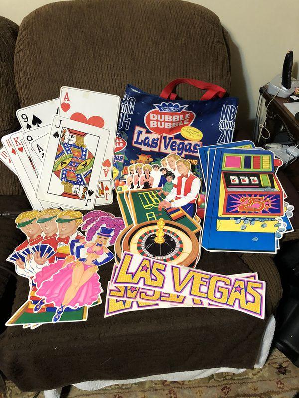 Large gum ball bag with large Las Vegas displays