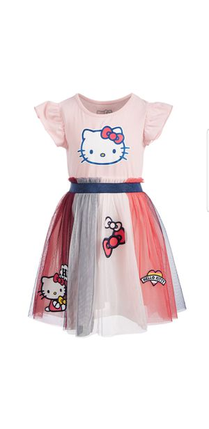 New pretty dress hello kitty size 2t for Sale in Irving, TX