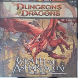 Dungeons & Dragons Wrath Of Ashardalon Board Game for Sale in Tualatin,  OR