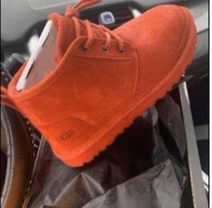Red neumel uggs men for Sale in Cedar Hill, TX