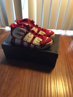 Supreme X Nike Uptempo for Sale in Los Angeles,  CA