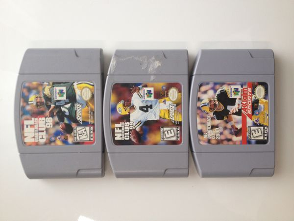 Nintendo 64 - NFL QB Club Complete Series