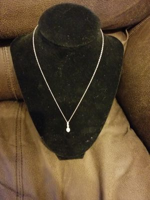 Silver necklace $10 FIRM for Sale in Fort Worth, TX