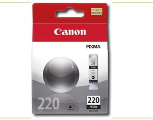 Canon - 220 Standard Capacity - Black Ink Cartridge - Black for Sale in San Bernardino, CA