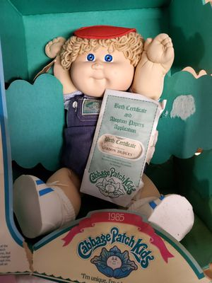 Old cabbage patch dolls... originals sadly many moves later the boxes are shot for Sale in Virginia Beach, VA