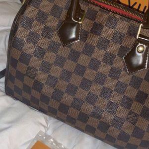 Louis Vuitton Ebene Speedy Bandouliere 25 for Sale in Wilmer, TX