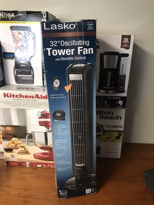 NEW Lasko tower fan 32 inch for Sale in Ontario, CA