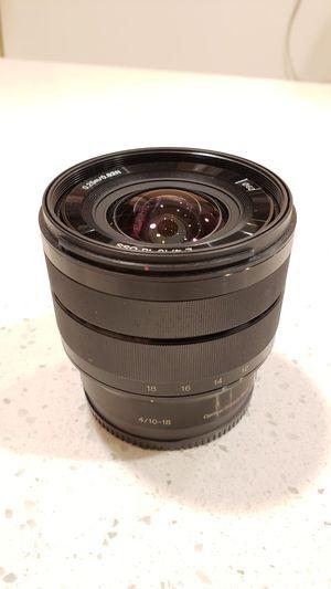 Sony Alpha SEL1018 lens for Sale in Corona, CA