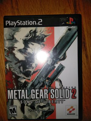 """PlayStation 2 """"Metal Gear Solid 2"""" for Sale in Golden, CO"""