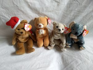 Beanie Babies: A Beary Cute Foursome for Sale in Seattle, WA