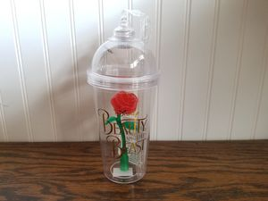 Disney Parks Beauty & the Beast Red Rose Light Up Souvenir Cup for Sale in MONARCH BAY, CA